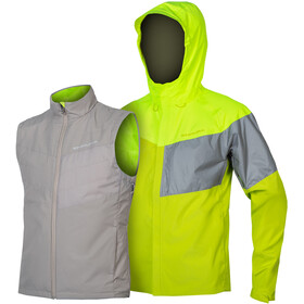 Endura Urban Luminite II 3-in-1 Jacket Men neon yellow